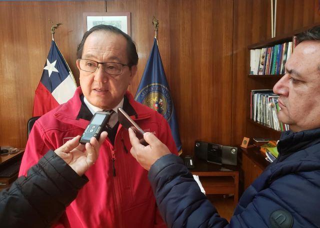 Gobernador de Osorno, Daniel Lilayú.