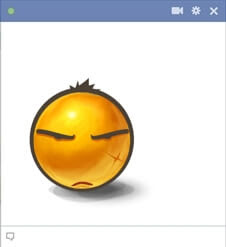 Are You For Real Facebook Emoticon