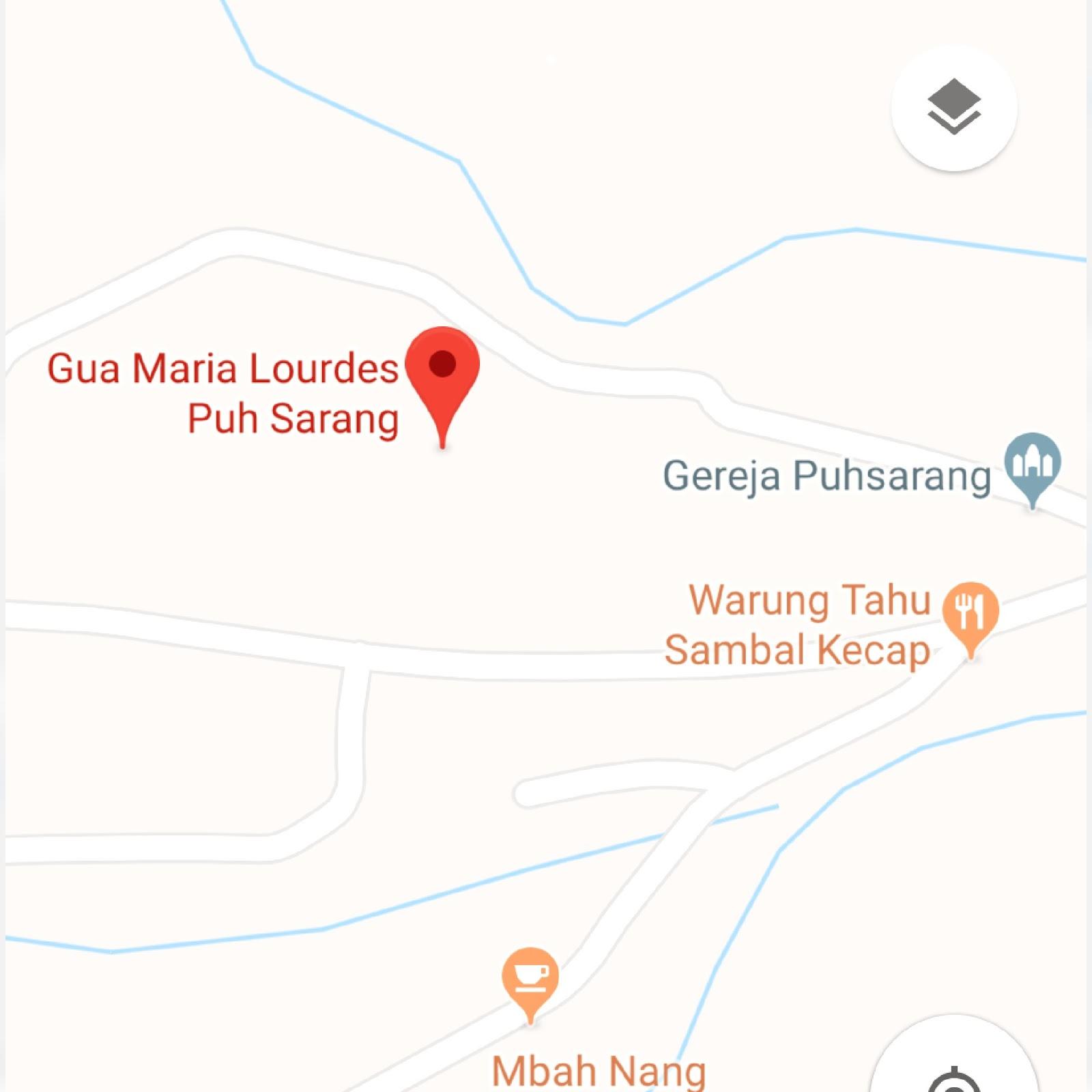 Rute dan Lokasi Menuju Gua Maria Pohsarang Kediri + Foto, Penginapan dan Sejarah