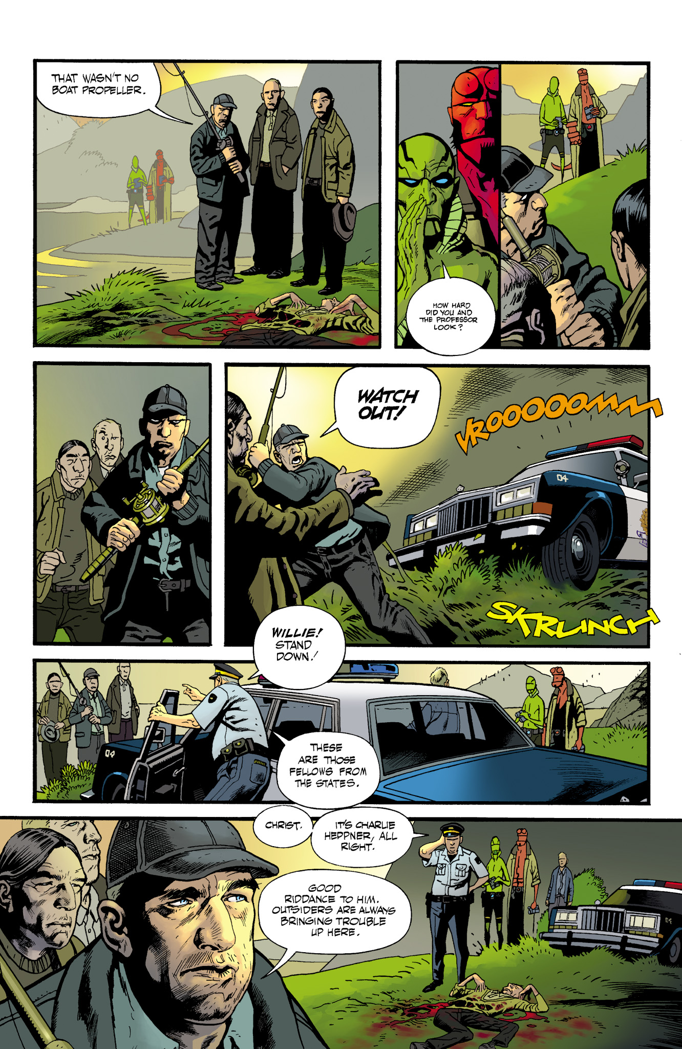 Read online Abe Sapien comic -  Issue #23 - 6