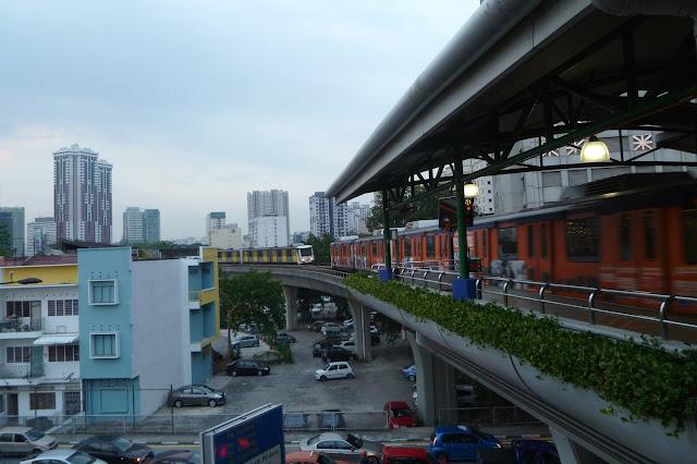 Kolejka miejska w Kuala Lumpur
