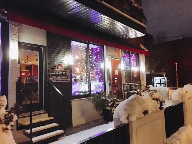 La Raclette in Montréal, Canada