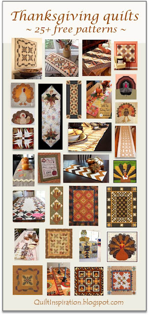 Quilt Inspiration: Free pattern day ! Thanksgiving : free thanksgiving quilt patterns - Adamdwight.com
