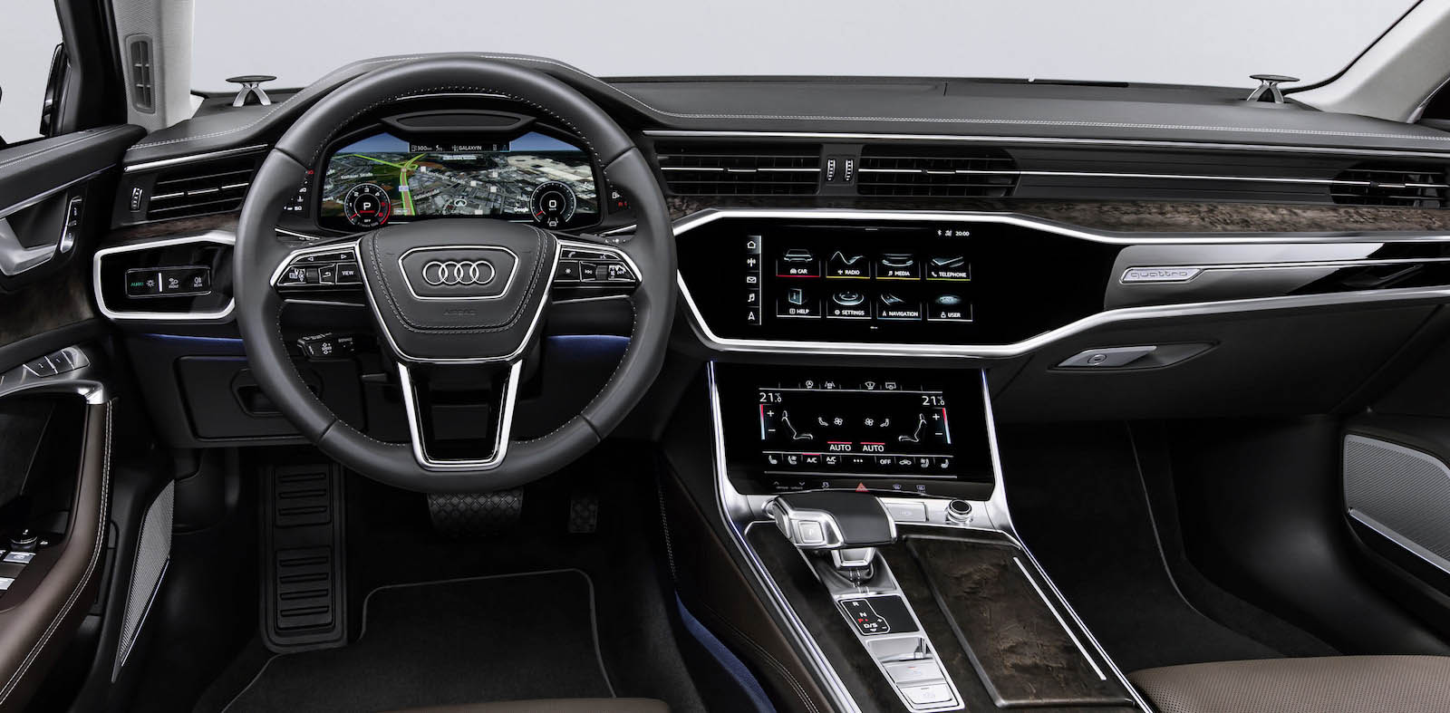 Com 39 la nuova audi a6 2018 interni dimensioni design e for Designer d interni famosi