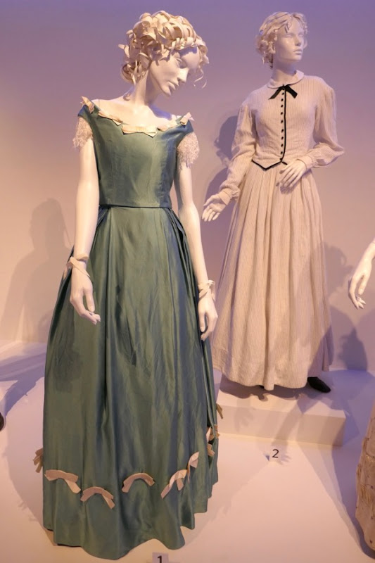 Beguiled Alicia and Miss Martha film costumes