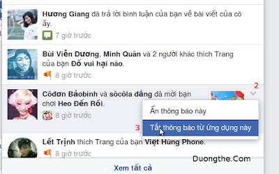 cách chặn mời chơi game trên facebook