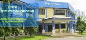 Info Pendaftaran Mahasiswa Baru ( UNPRI ) 2017-2018 Universitas Pramita Indonesia Tangerang