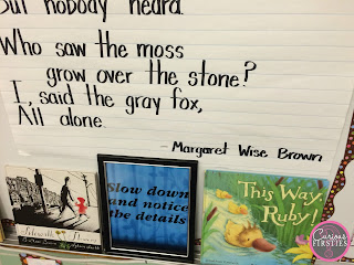 """One great way to use mentor texts is for comparison. Check out this post to see how """"text cousins"""" can demonstrate theme."""