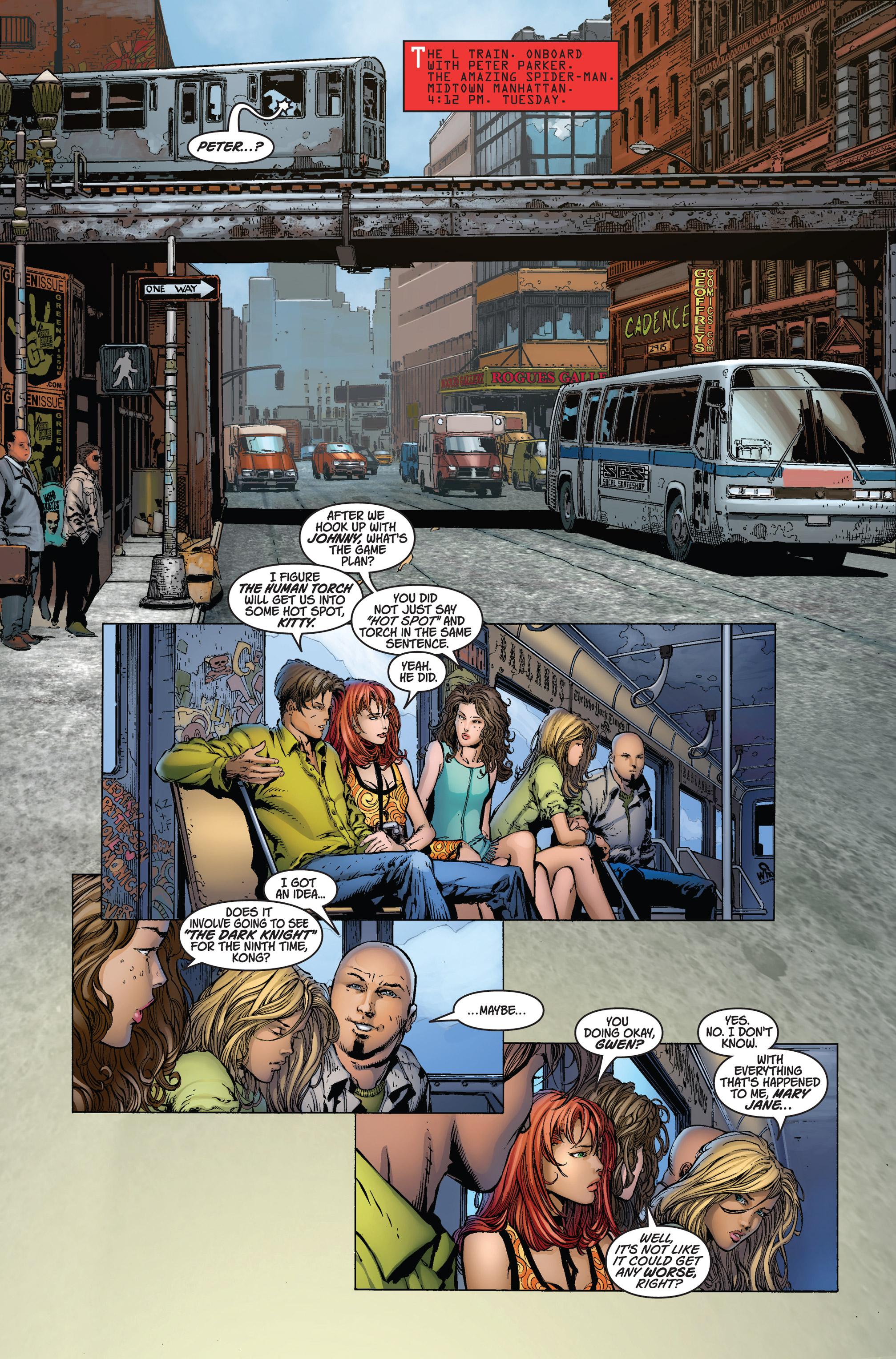 Read online Ultimatum comic -  Issue #1 - 5