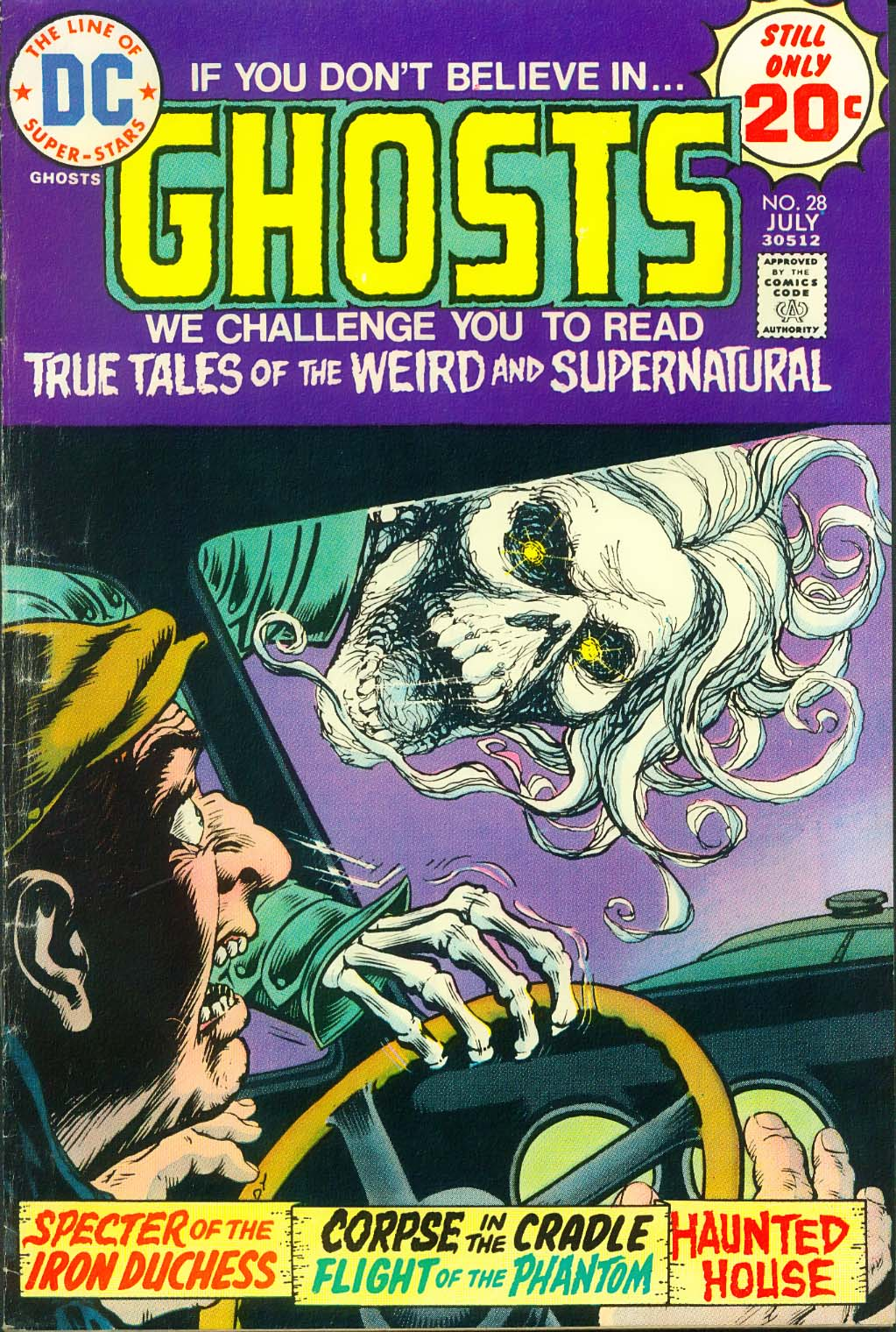 Read online Ghosts comic -  Issue #28 - 2