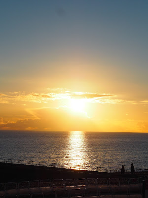 Sunset Over Brighton Beach