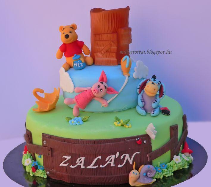 micimackós torta képek Millye finomságai: Micimackó torta / Winnie the pooh cake micimackós torta képek