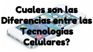Tecnologías Celular