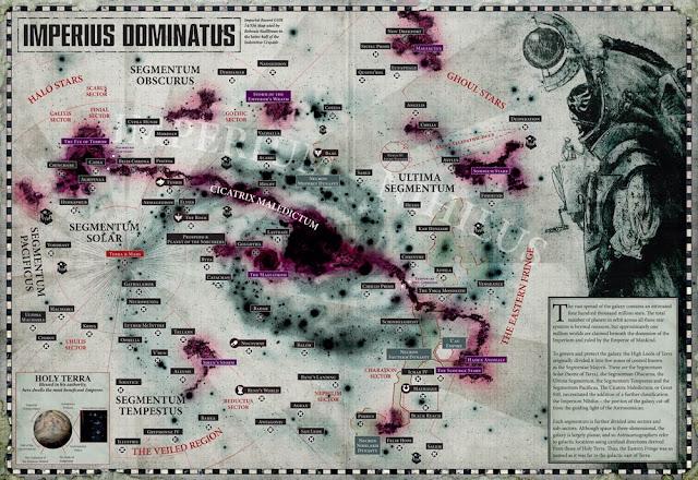 Mapa Galaxia Impero