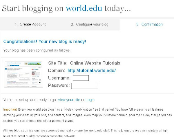 How To Get and Create a Free Blog From .Edu Domain