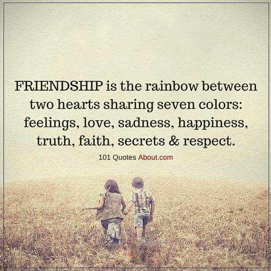 """Friendship Quotes"""