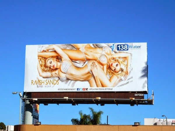 138 Water Ravish Sands swimwear billboard