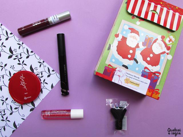 NatimusBOX Makeup: edição especial de Natal | Dez/16