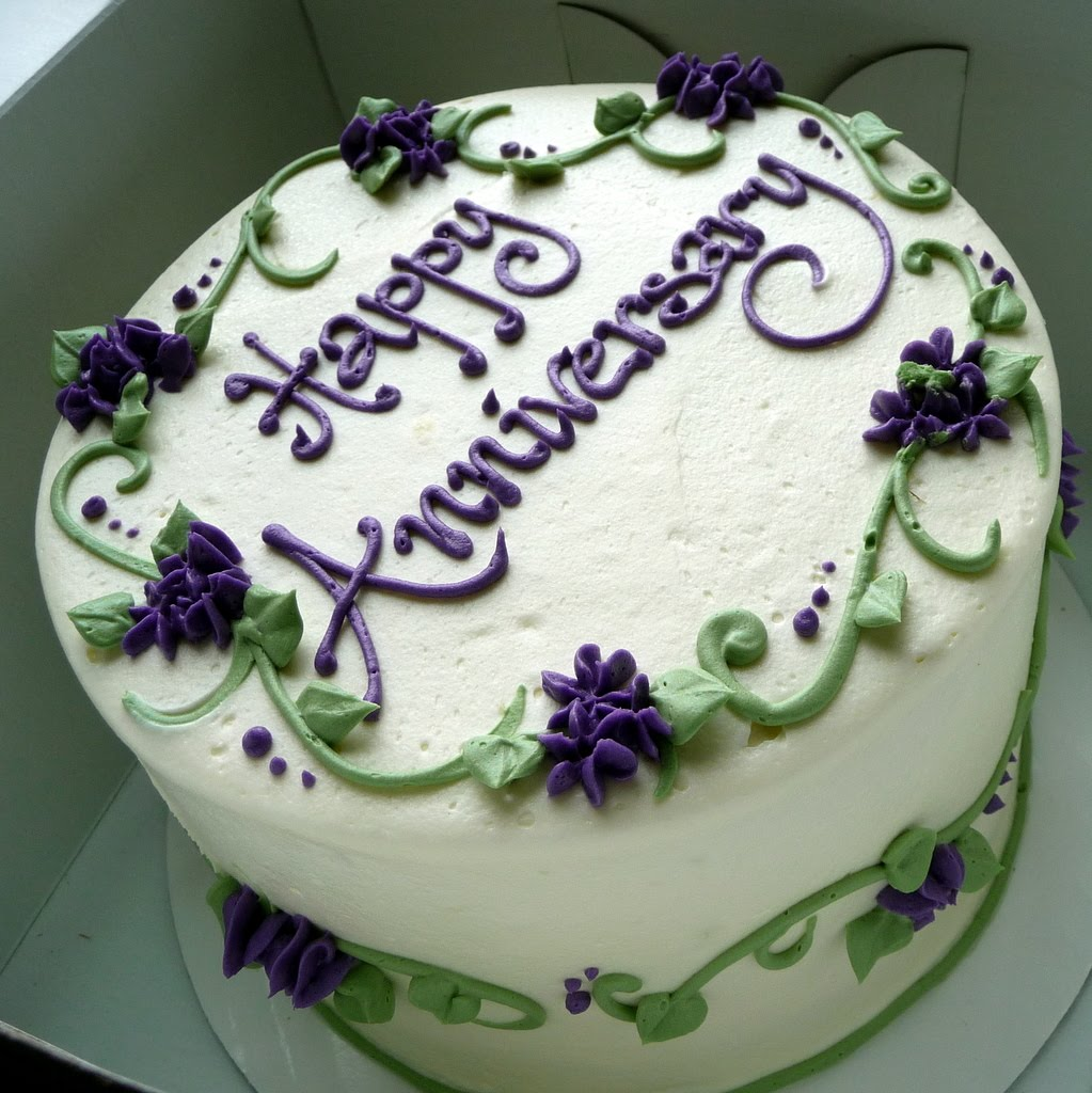 happy wedding anniversary cake image download