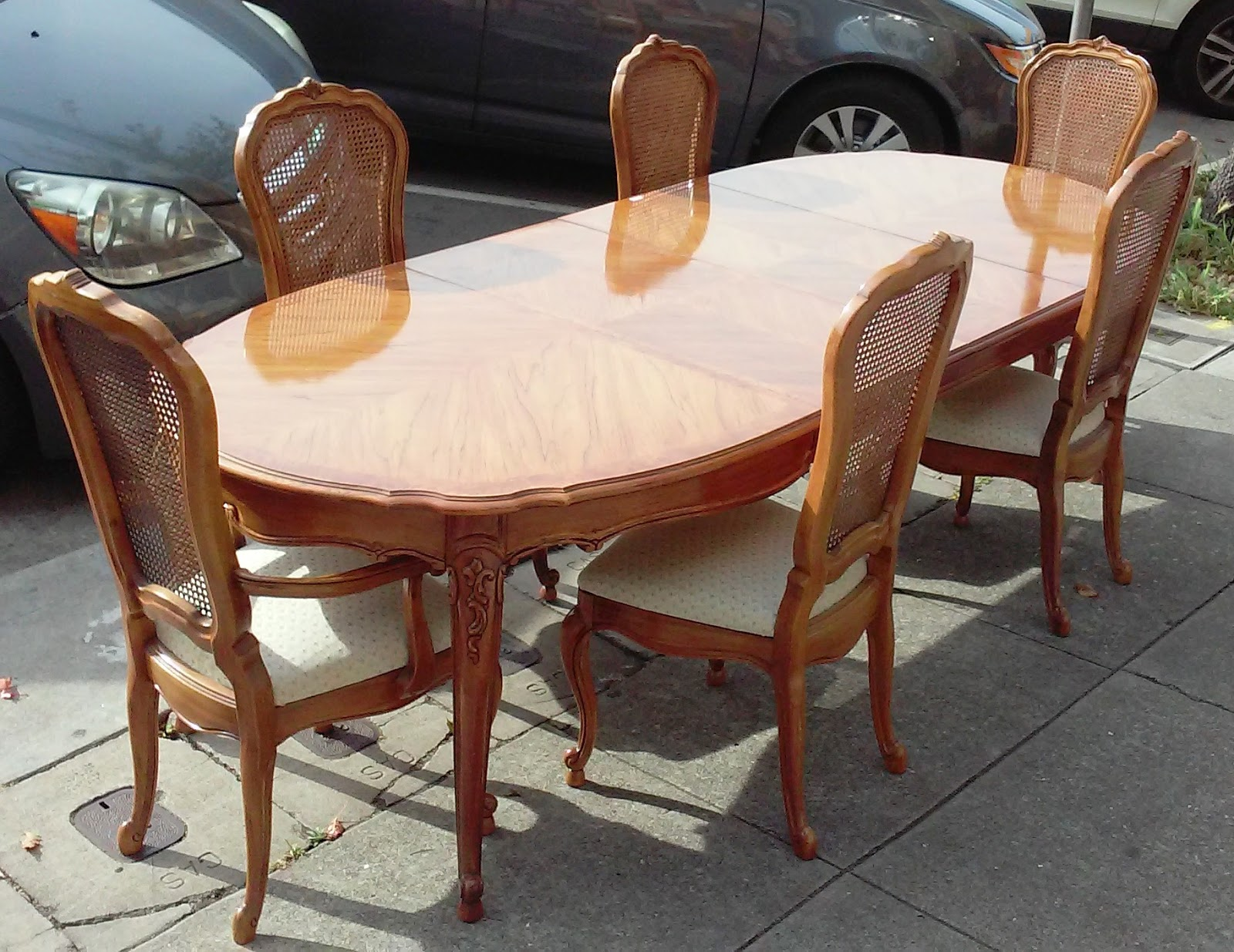 SOLD REDUCED Thomasville French Provincial Dining Set