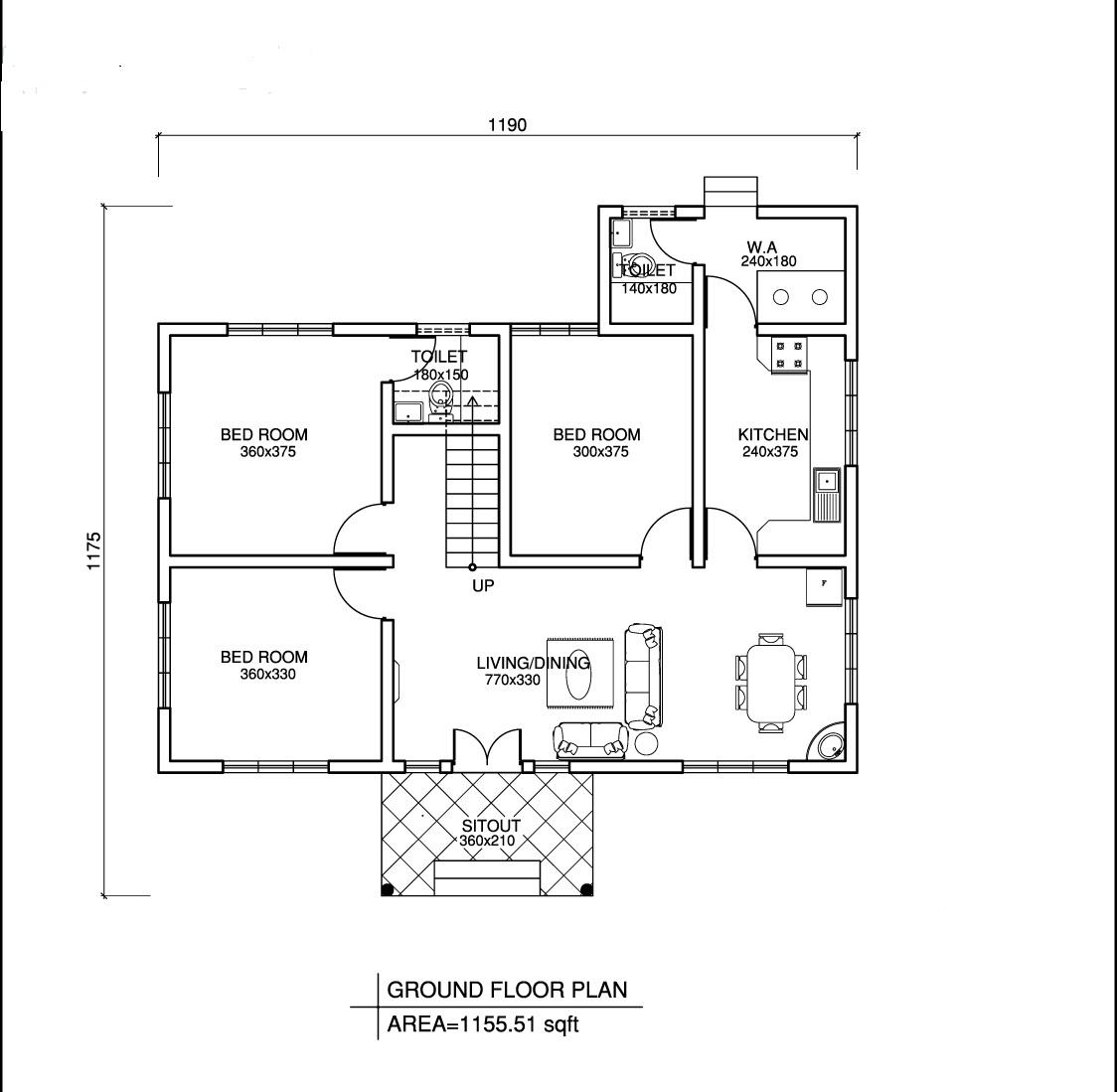 Sciensity Floor Plan Autocad Design