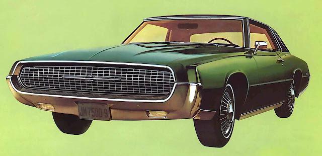 1967 Thunderbird green