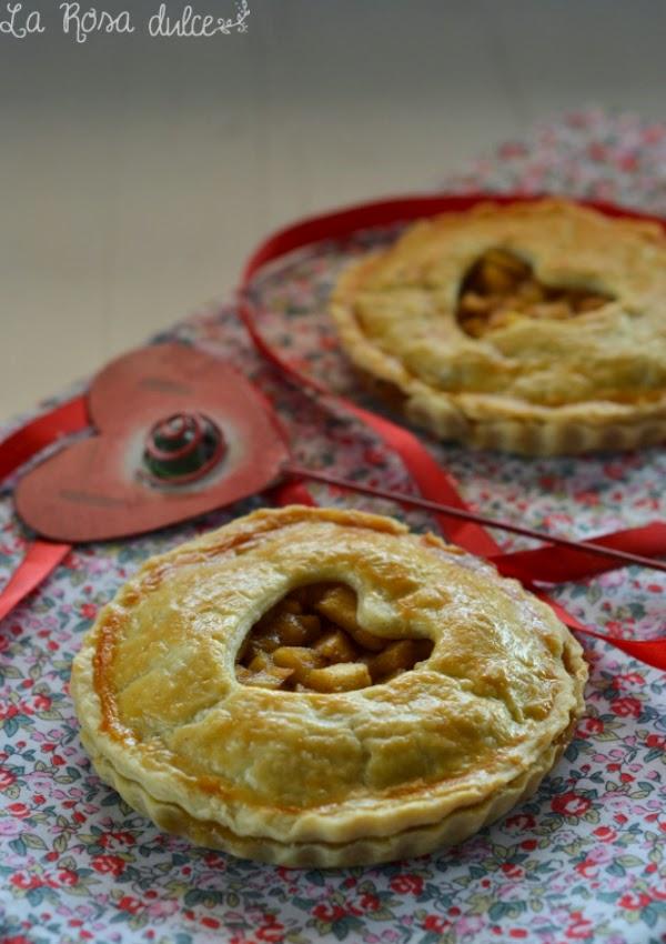 pastel de manzana sin lactosa