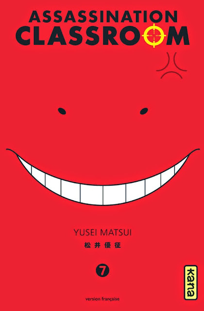 Okładka mangi Ansatsu Kyoushitsu (Assassination Classroom)