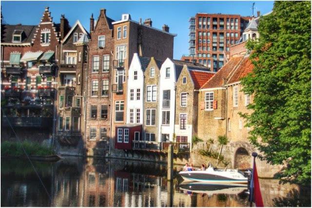 Delfshaven en Rotterdam
