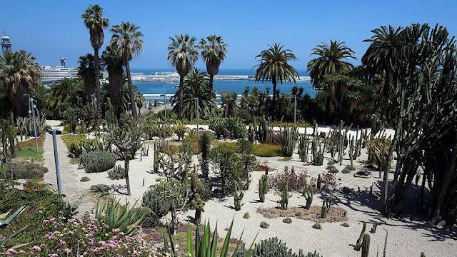 Jardins Mossèn Costa i Llobera em Montjuic