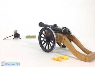 Old days cannon toy