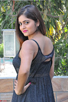 Pragya Nayan New Fresh Telugu Actress Stunning Transparent Black Deep neck Dress ~  Exclusive Galleries 016.jpg