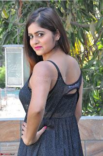 Pragya Nayan New Fresh Telugu Actress Stunning Transparent Black Deep neck Dress ~  Exclusive Galleries 016.jpg