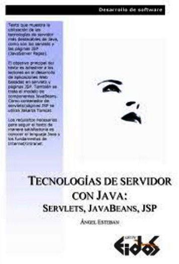 Tecnologías de servidor con Java: Servlets, JavaBeans, JSP – EIDOS