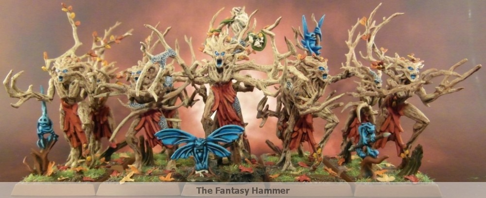 Wood Elves Dryads unit