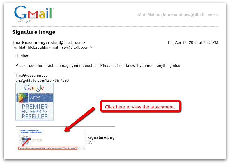 how to attach an email to an email using gmail google cloud