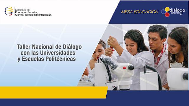 dialogo nacional educación