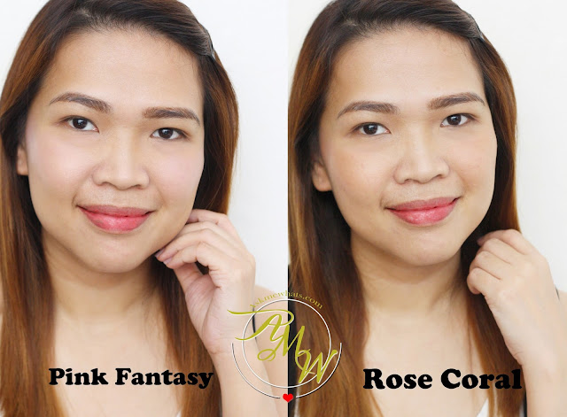 a photo of Nikki Tiu wearing Tony Moly Spoiler Mini Cushion Blusher Pink Fantasy and Rose Coral_AskMeWhats