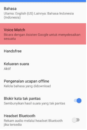 setting ok google hp