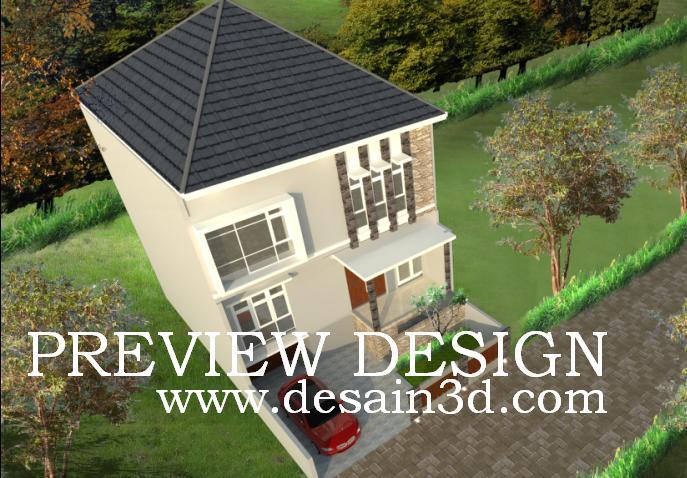 Jasa Desain Bangunan Rumah Tinggal Eksterior Interior Secara Online