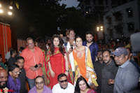 Shraddha Kapoor, Padmini Kolhapuri, Shakti Kapoor, Jackie Shroff, Asha Bhosle, Jitendra and other Bollywood Celebrities at Inauguration Of Pandit Padharinath Kolhapure Marg Exclusive  32 (9).JPG