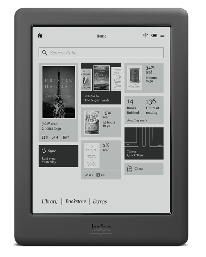 Kobo Touch 2.0 - zdjęcie ekranu