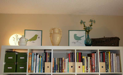 styling expedit, diy bird art, bird art