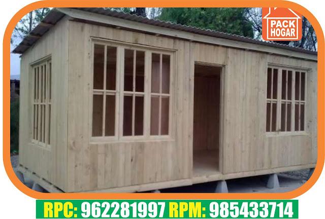 Casetas prefabricadas para viviendas packhogar - Feria de casas prefabricadas ...