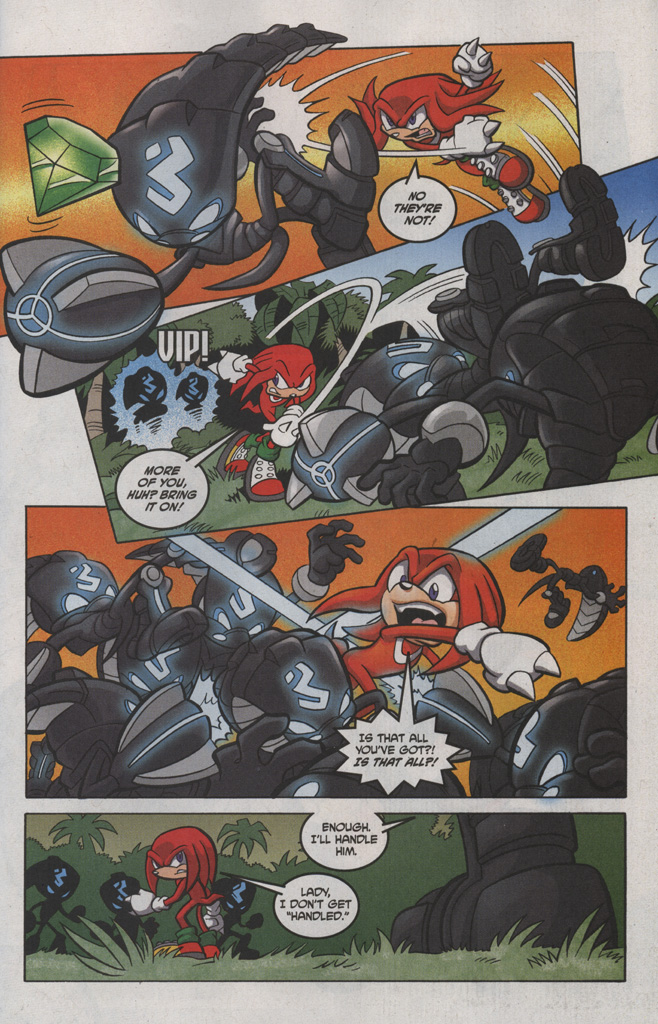 Read online Sonic The Hedgehog comic -  Issue #191 - 23