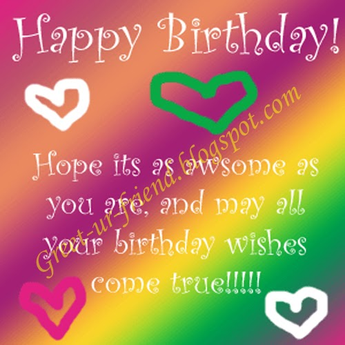 Happy Birthday Message For Facebook Timeline Wishes