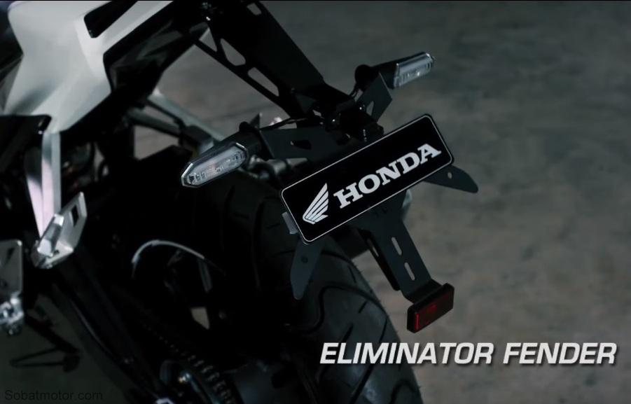 Ini dia aksesoris resmi untuk All New Honda CBR 150R 2016 dari Honda Genuine Accessories . . keren sob !