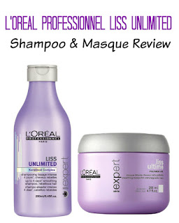 L'Oreal Professionel Liss Unlimited Shampoo and Smoothing Masque Review