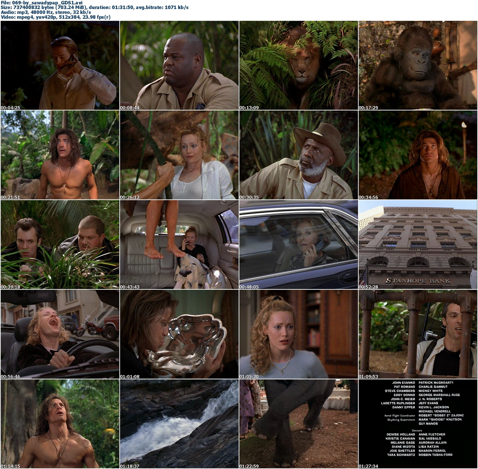 George de la Selva 1 y 2 [1997/2003] [DVDRip] [Lat - Identi