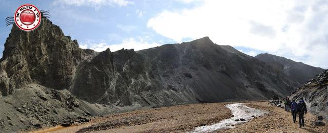 Comienzo de sendero nº1 Landmannalaugar. Valle verde